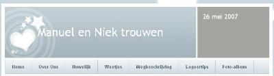 Website Manuel en Niek